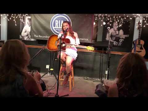 "Hannah Hokit singing original ""End With You"""