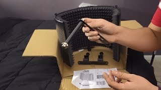 Monoprice 602650 Sound Isolation Shield Test and How To Set Up