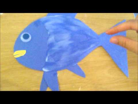 The Rainbow Fish Craft Blooming Brilliant's Tiny Tots Reading Club