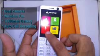 New Micromax x740 latest micromax x740 keypad selfy dual camera mobile phone