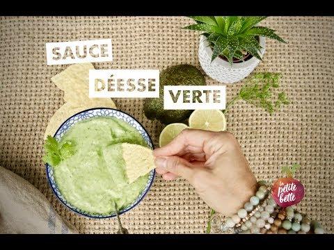🥑-sauce-vinaigrette-dÉesse-verte-(green-goddess)-🥑-À-l'avocat-🥗🥑-tuto