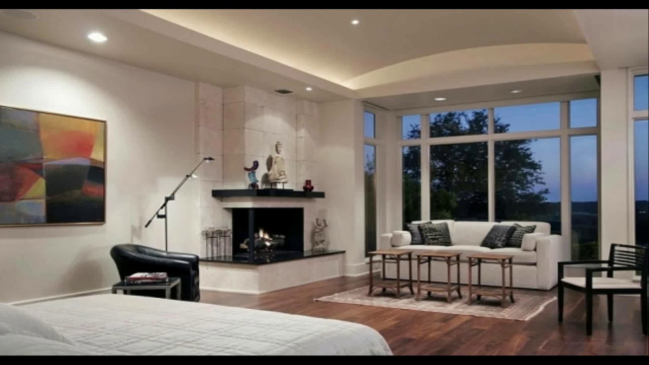 Living room with corner fireplace decorating ideas
