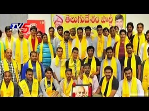 Gandhi Jayanthi Celebrations By TDP Leaders In America   TV5 News