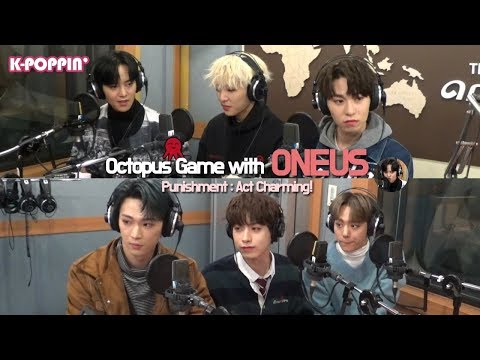 [K-Poppin'] 원어스 (ONEUS)'s Octopus Game on Arirang Radio!