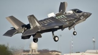 LOOK IT CAN FLY !!! US Air Force F-35 Aircraft another great example of tax money well spent
