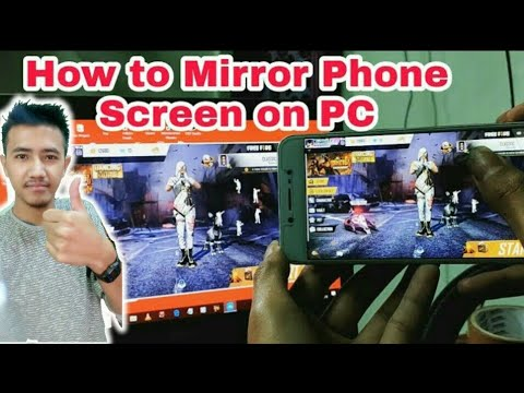 How To Mirror Phone Screen On PC