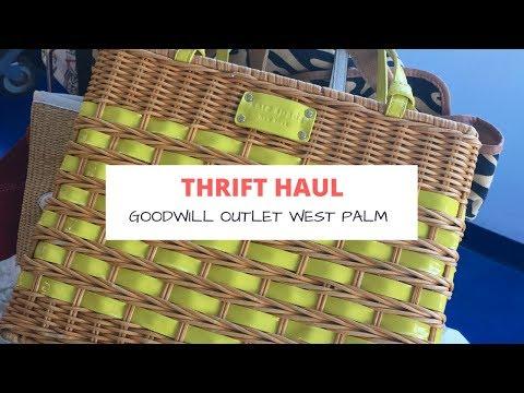 Thrift Haul: Goodwill Outlet West Palm Beach