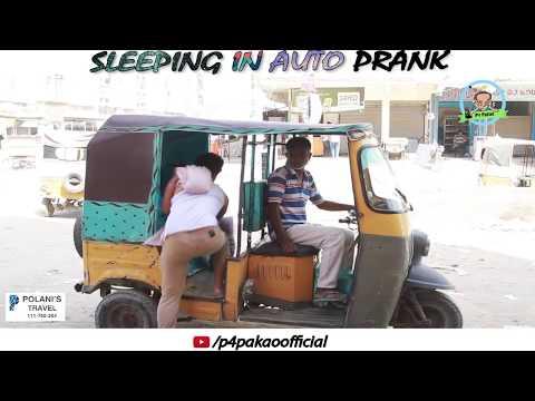 | SLEEPING IN AUTO PRANK | By Asim Sanata & Ahmed In | P4 Pakao | 2018