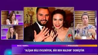 """Alişan'ın eşi Buse Varol eski nişanlısı Eda Erol hakkında ilk kez konuştu:""""Ne kadar üzülmüştür."""""""