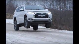 Mitsubishi Pajero Sport отправляется в полет