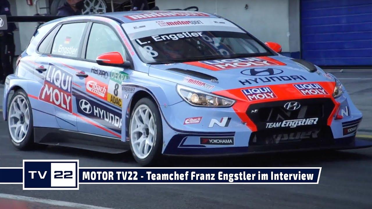 MOTOR TV22: Teamchef Franz Engstler von Engstler Motorsport im Interview