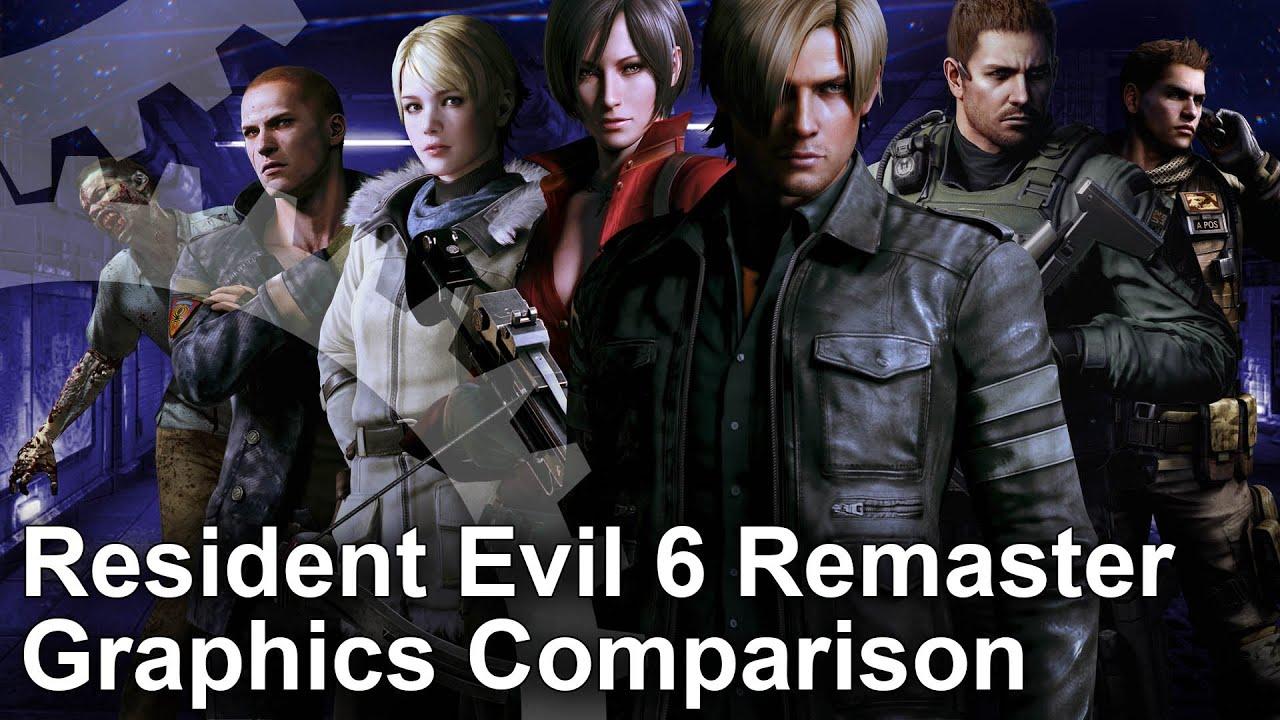 Resident Evil 6 Elicottero : Resident evil ps xbox one pc last gen graphics