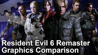 Resident Evil 6 PS4/Xbox One/PC/Last-Gen Graphics Comparison