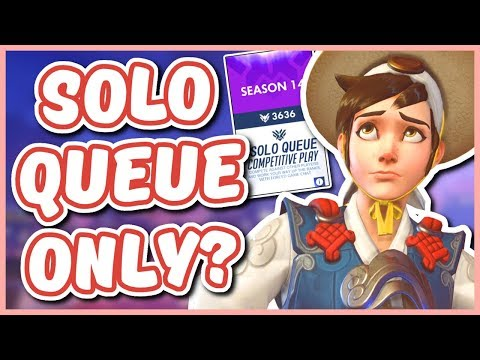 Overwatch - SOLO QUEUE ONLY COMPETITIVE PLAYLIST (Let's Fix Competitive) thumbnail