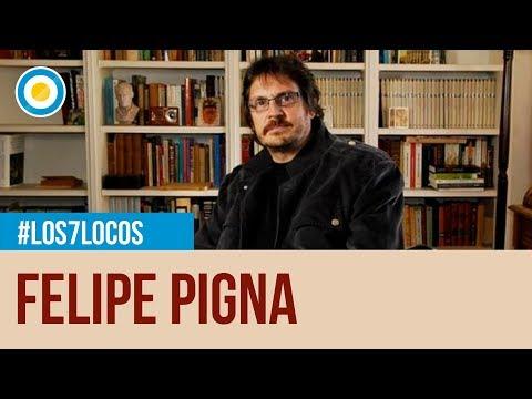 """Felipe Pigna presenta """"La vida por la patria"""" en Los 7 locos"""