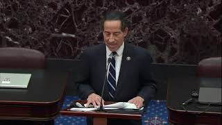 Jamie Raskin Reads Article Of Impeachment Against Donald Trump