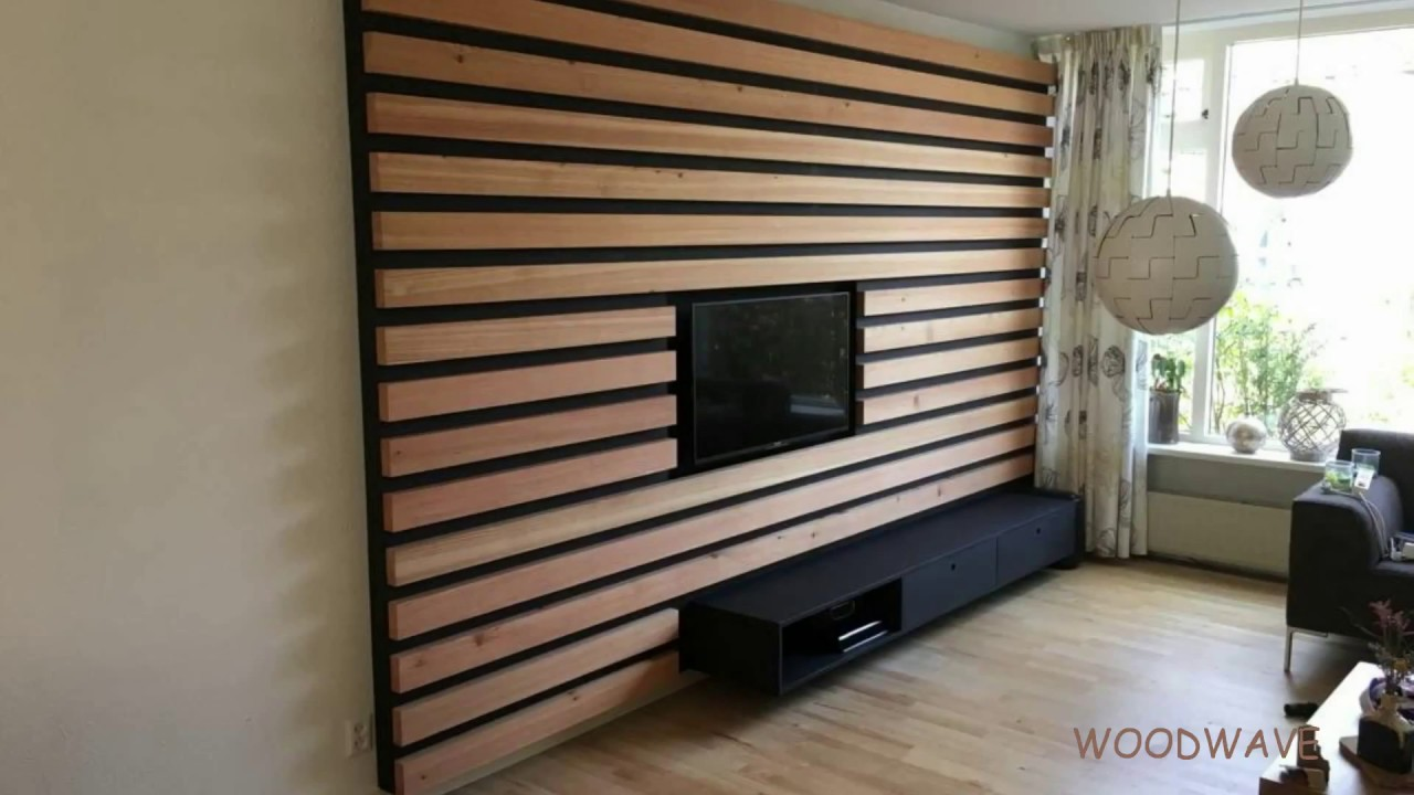 Tv Meubel Wand.Tv Wand Meubel Plaatsen Youtube