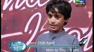 Indian Idol Audition of Sattar Khan 00923334046586 rehman ali.FLV