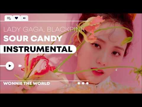 Lady Gaga, BLACKPINK - Sour Candy | Instrumental