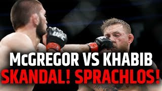 ERSTE REAKTION! MCGREGOR VS KHABIB! SPRACHLOS!!