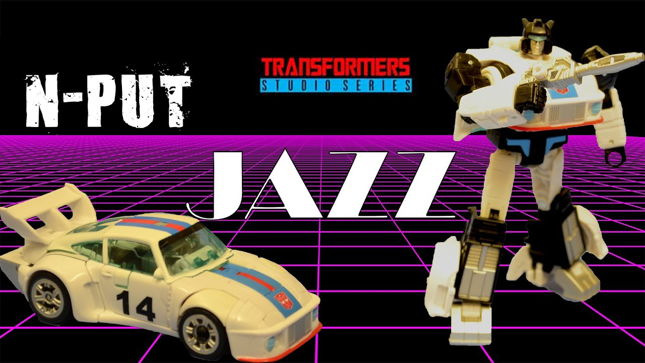Transformers Studio Series 86 Jazz Review By N-PUT