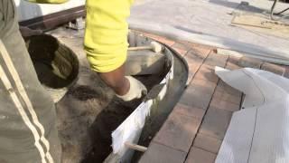 видео бордюр для тротуарной плитки
