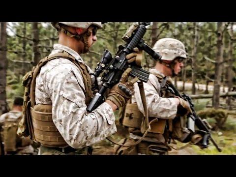 U.S. Marines & Portuguese Fuzileiros • Fire & Maneuver Drill