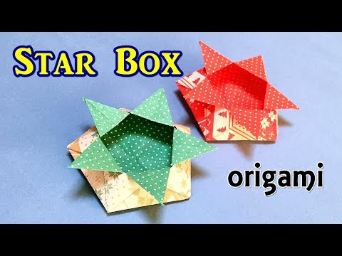 How to Make an Easy Origami Star Box - YouTube | 360x480