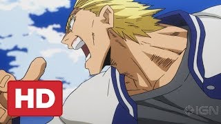 Young All Might Fight - My Hero Academia: Two Heroes Clip