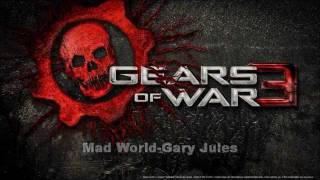 gears of war 3 - mad world song