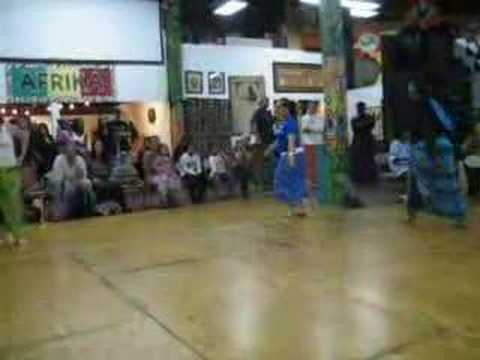 African Dancing class