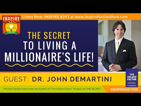 🌟 The Secret to Living a Millionaire's Life! | As Seen on THE SECRET | Dr. John Demartini