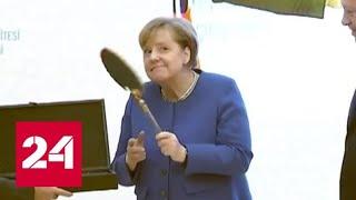 Смотреть видео Меркель и Эрдоган сделали заявления по Ливии и Сирии - Россия 24 онлайн