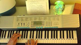 How to Play ~ Walking In Memphis ~ Marc Cohn ~ LetterNotePlayer ©