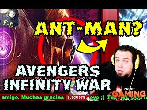 ¿ ANT-MAN EN POSTER AVENGERS INFINITY WAR IMAX ? - ESTO ES PEOR QUE BUSCANDO A WALLY