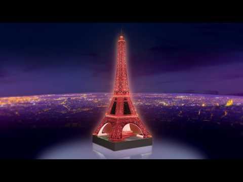 Ravensburger 3D pimedas helendav pusle Eiffeli torn