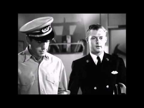 Action in the North Atlantic (1943) scene, Raymond Massey   , Humphrey Bogart 720p