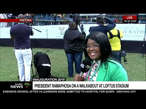 UPDATE: Final preparations for presidential inauguration