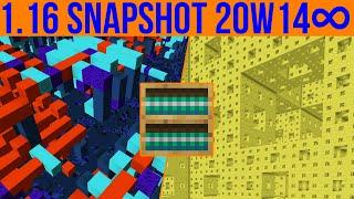 Minecraft 1.16 Snapshot 20w14∞ The Infinity Snapshot