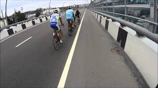 Велоспорт Сочи. Road Cycling in Sochi. 2014. Техника спуска с г. Ахун от МСМК Жайворонка Г.И.