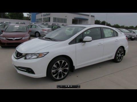 2013 Honda Civic Si Sedan Start Up, Exhaust, and In Depth Review