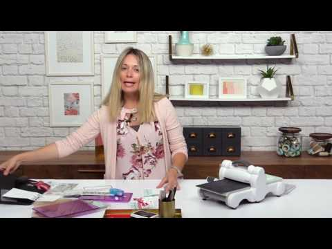 How To Create Half Panel Cards With Stephanie Barnard | Sizzix
