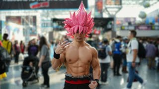 BEST NEW YORK COMIC CON 2018 | GOKU BLACK COSPLAY