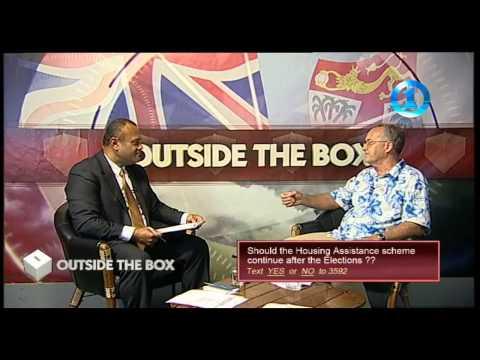 FijiTV OutsideTheBox Interview with Ian Simpson