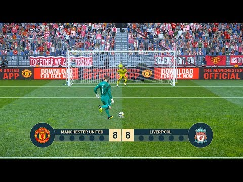 MANCHESTER UNITED Vs LIVERPOOL | Penalty Shootout | PES19