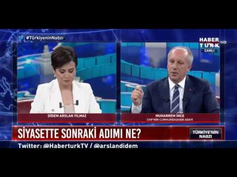 Muharrem İnce, Yeni Parti Kuracak Mı? İstanbul Belediye Başkan Adayı Olacak Mı? 12 Temmuz Habertürk