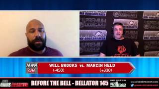 Before The Bell with Nick Kalikas and Frank Trigg - Bellator 145