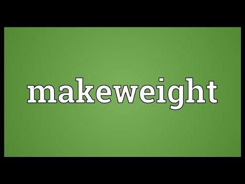 Header of makeweight