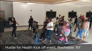 Family fitness program at East High, Rochester