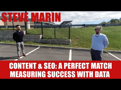 Steve Marin On Content & SEO With Measuring Digital Marketing Success With Data - Vlog #109 - YouTube